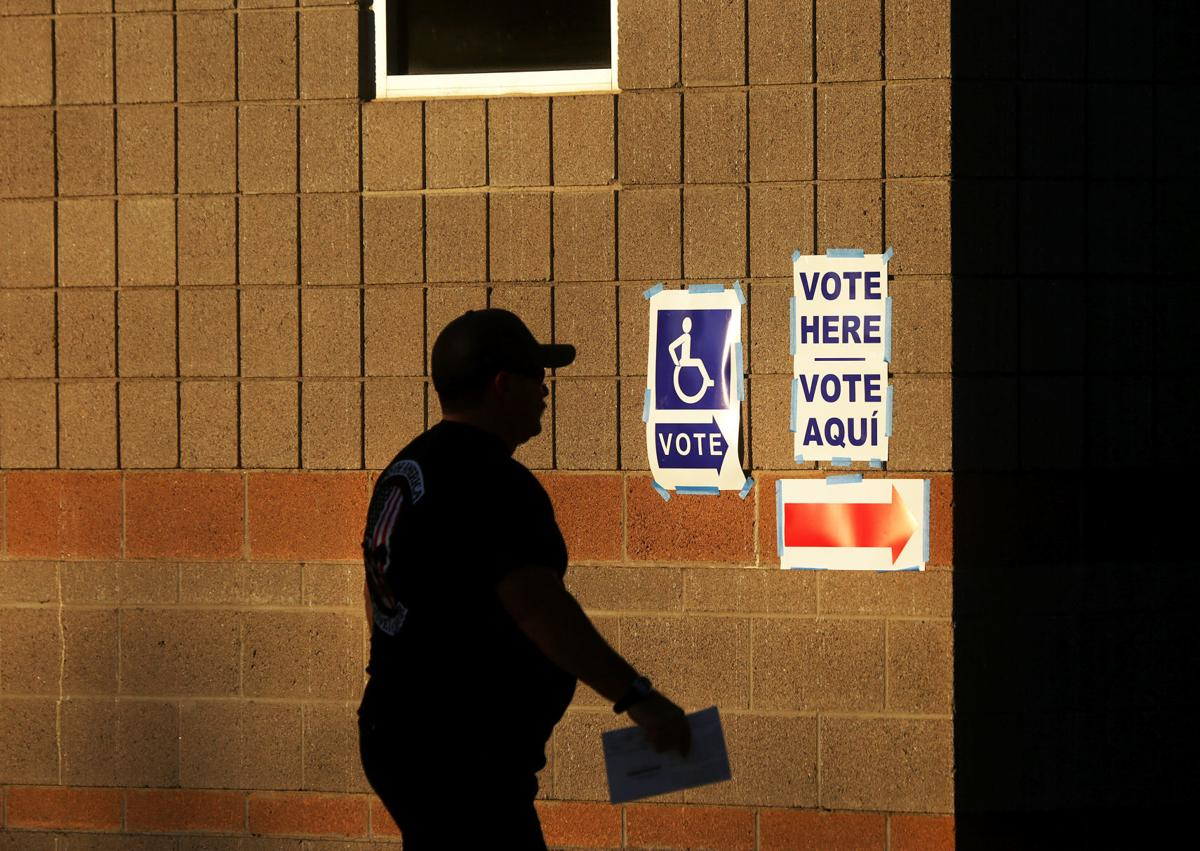 Ballot harvesting elections