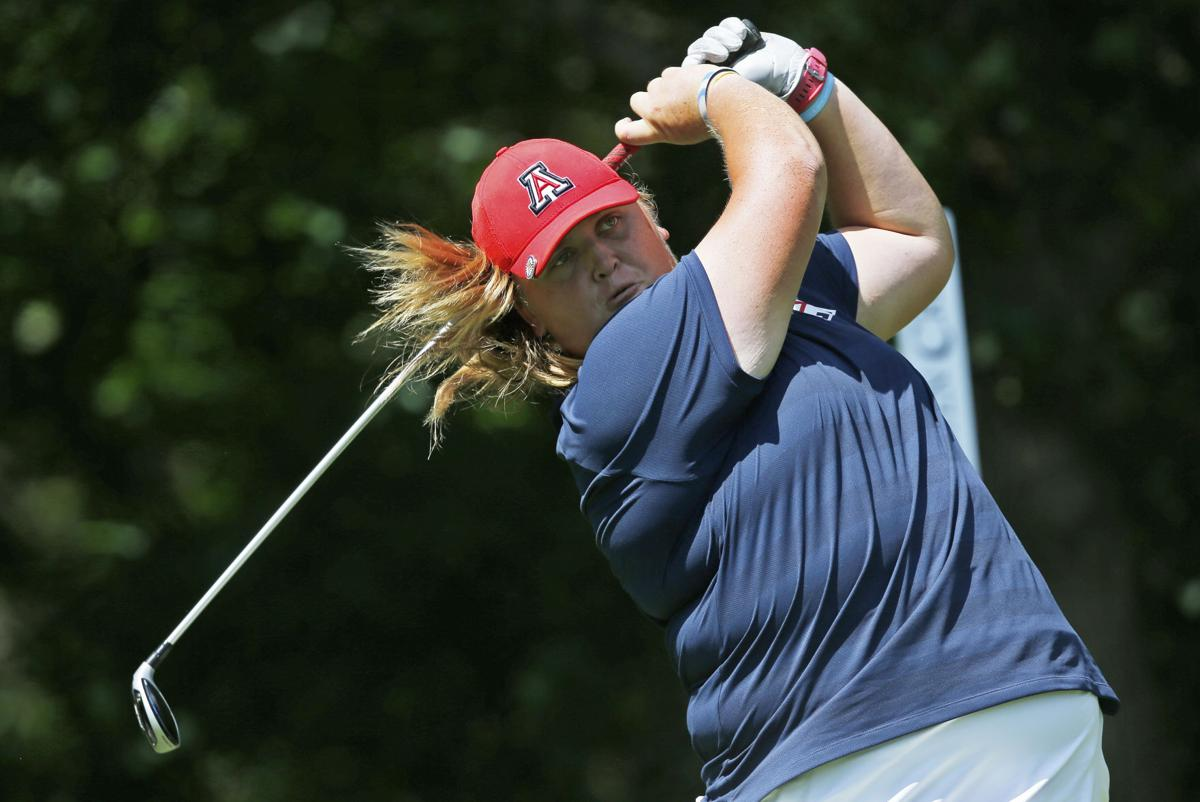 National Champs Haley Moore Sinks Putt, Gives Arizona -3115
