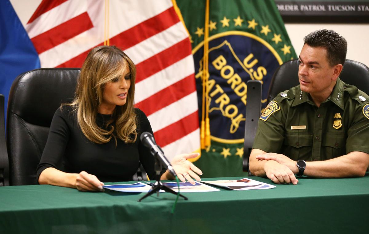 Melania Trump in Arizona
