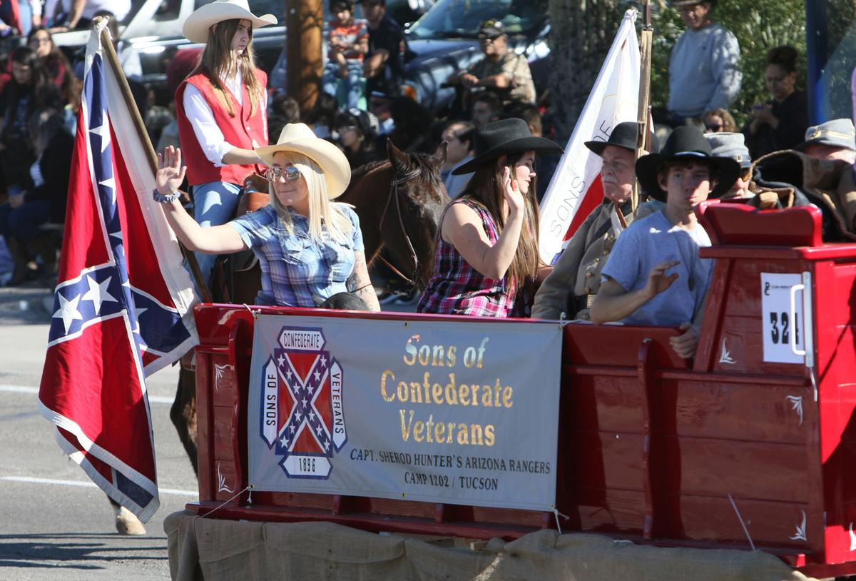 Tucson Rodeo Parade, Sons of Confederate Veterans