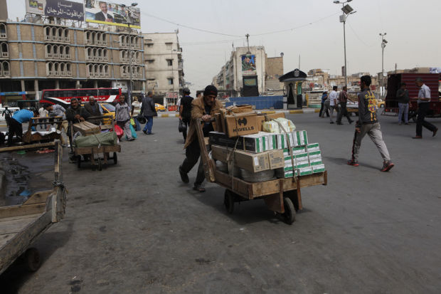 Iraq goes on, but scars of war endure