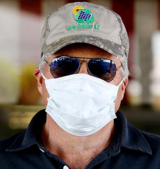 Tucson face masks: Kent Bauman