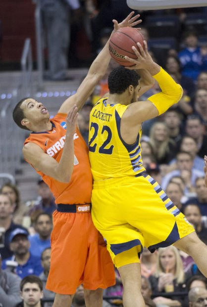 East region final: No. 4 Syracuse 55, No. 3 Marquette 39: Zone holds Eagles to Elite Eight low