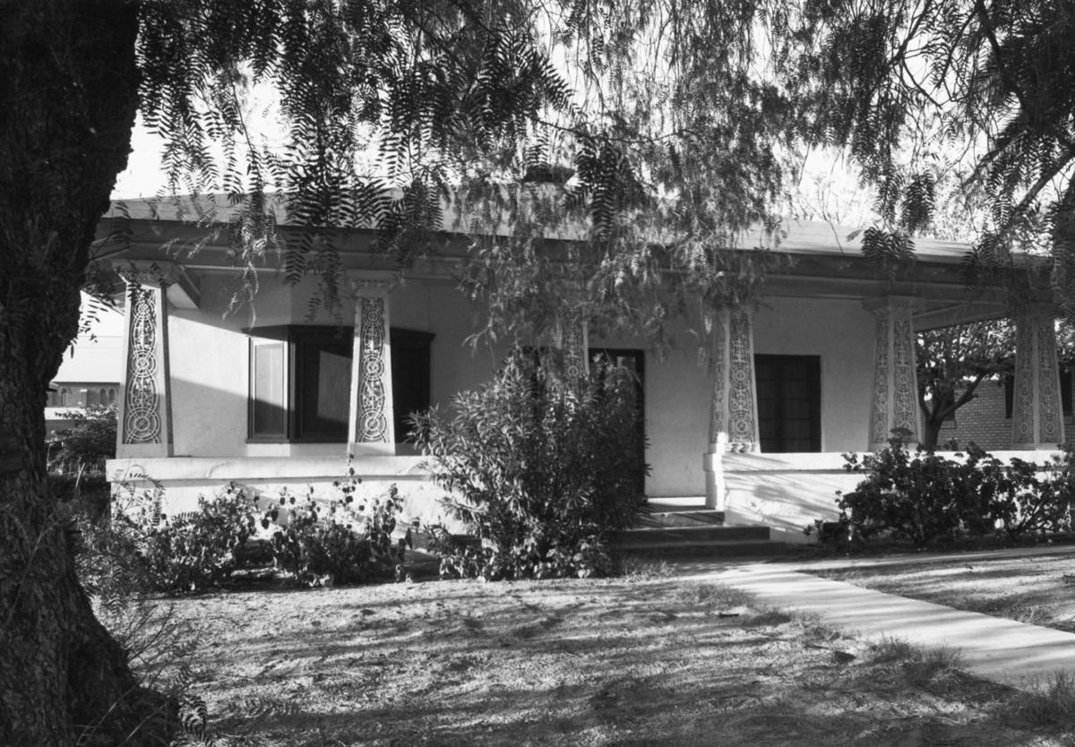 1964 Tucson home photos: A remodeled and enlarged home