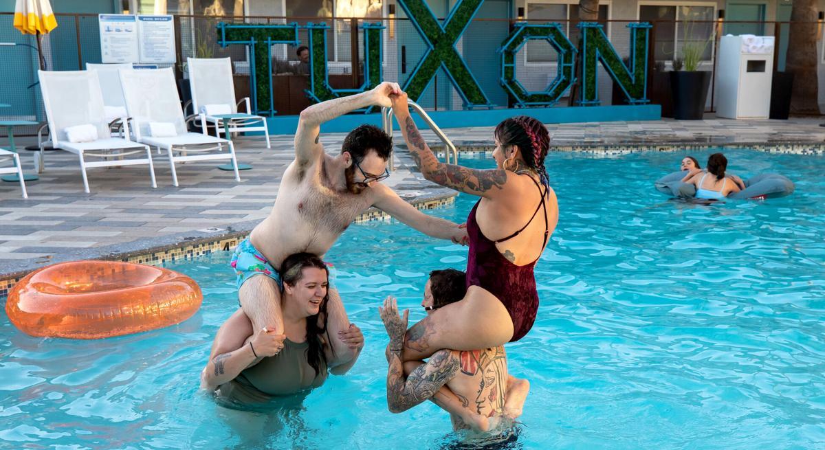Resort Pools: Tuxon Hotel