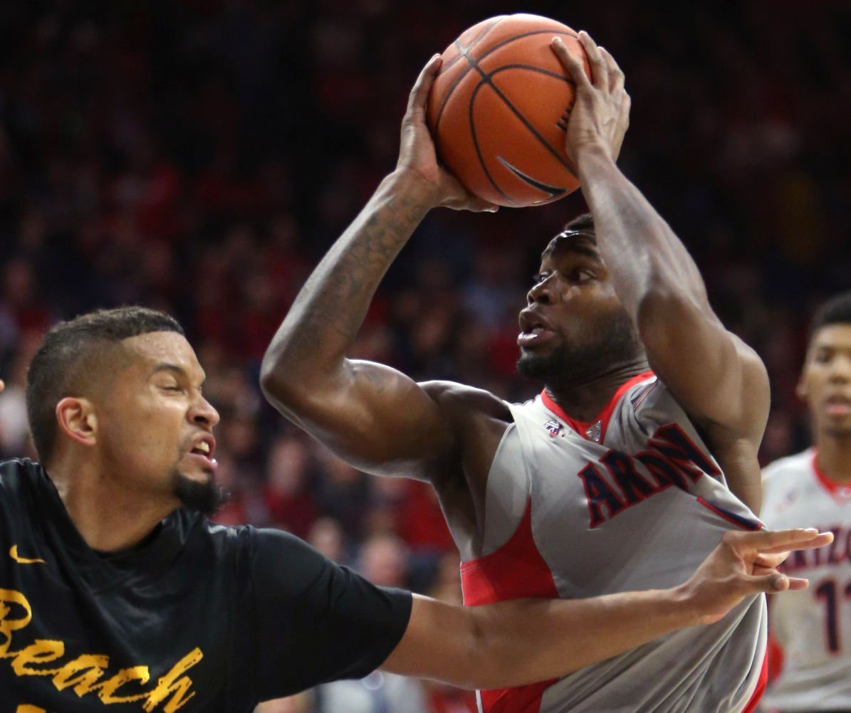 8bd37dc8c Arizona Wildcats beat Long Beach State 85-70