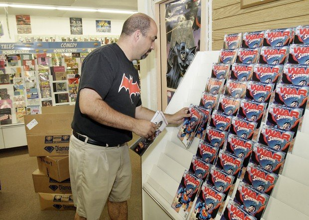 Comic books on the house today at 4 Tucson stores