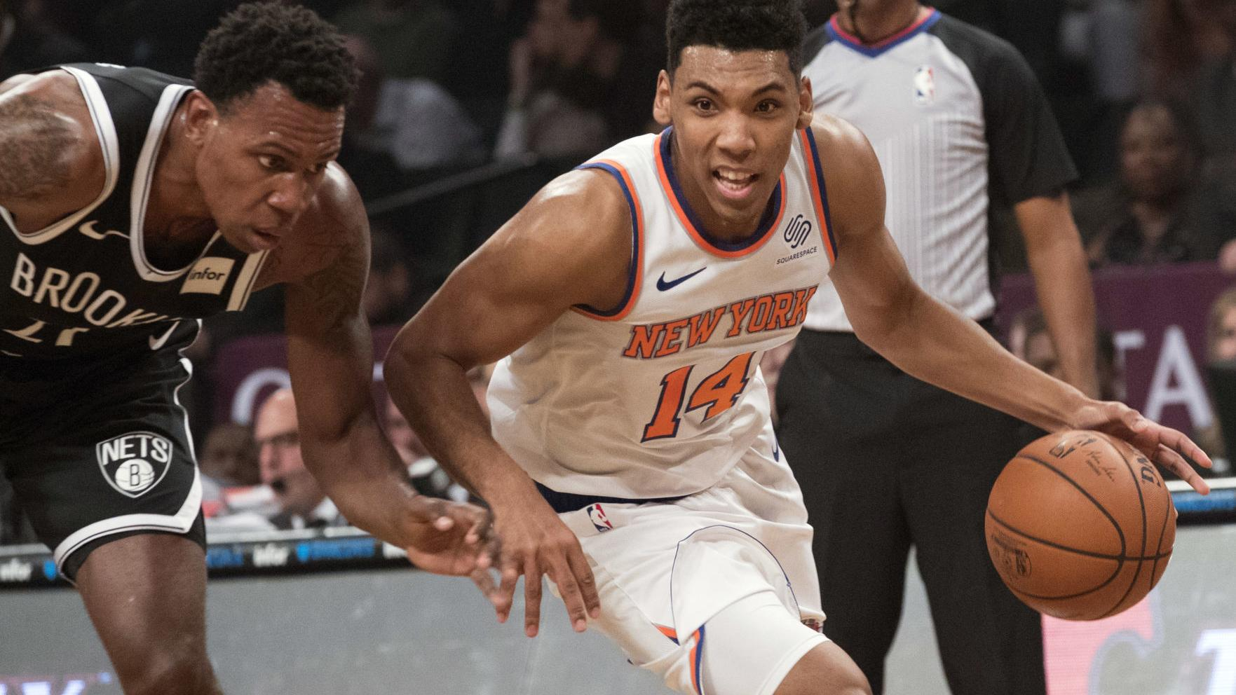 Ex-Cat Allonzo Trier playing with a chip on his shoulder for rebuilding Knicks
