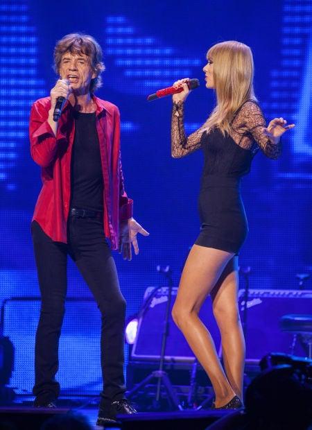 Mick Jagger Taylor Swift Tucson Com