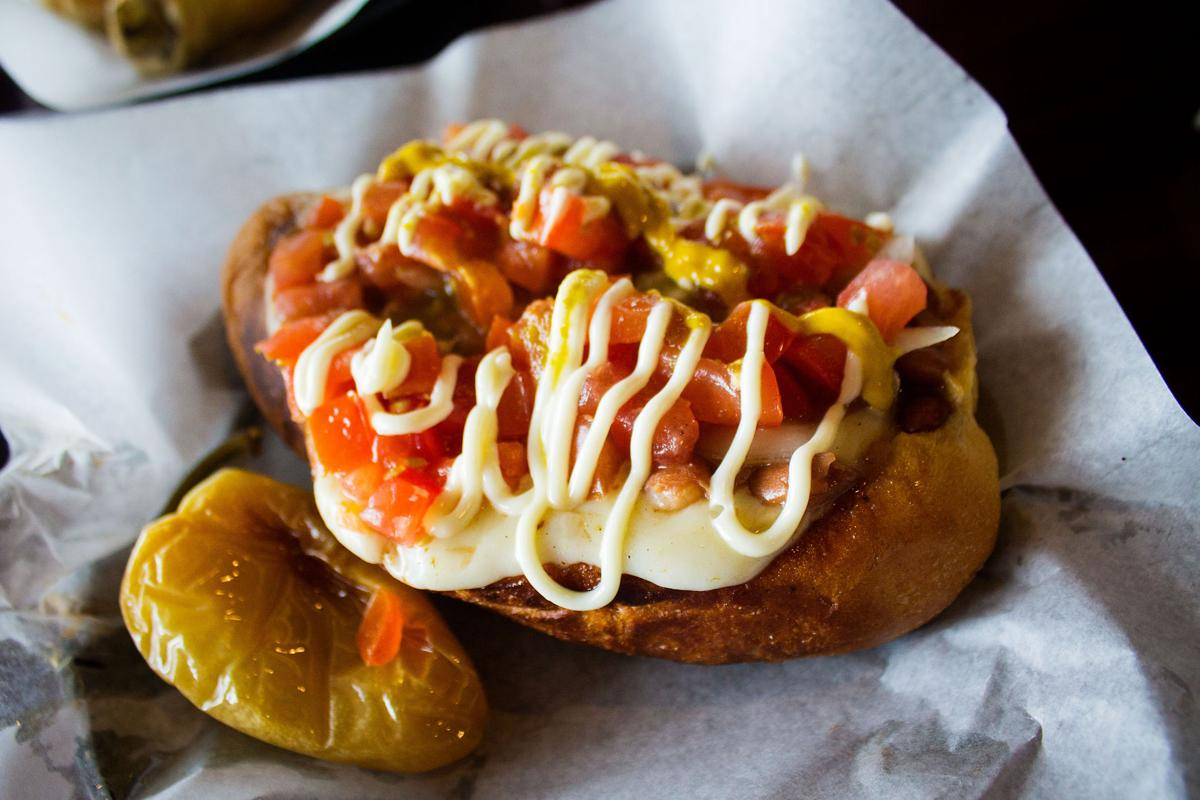 Chipilon hot dog at Sonora's Famous