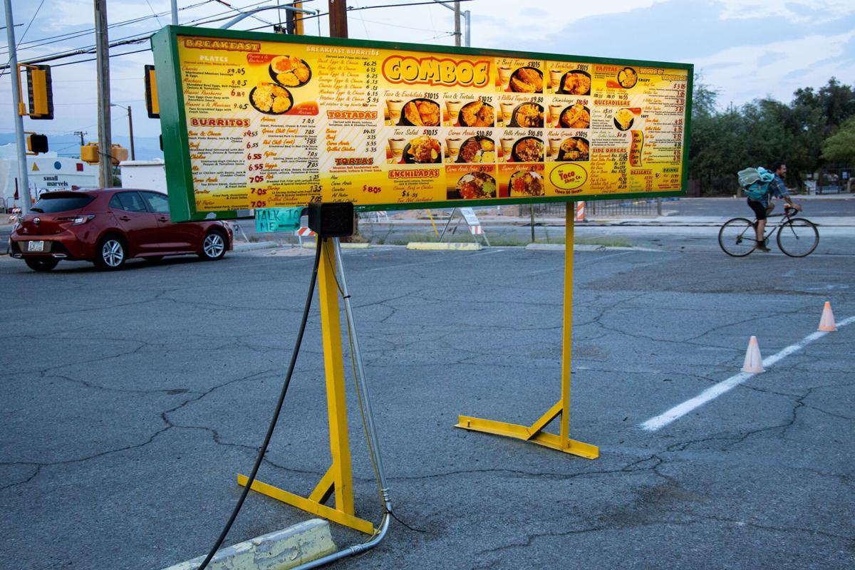 Taco Shop drive-thru