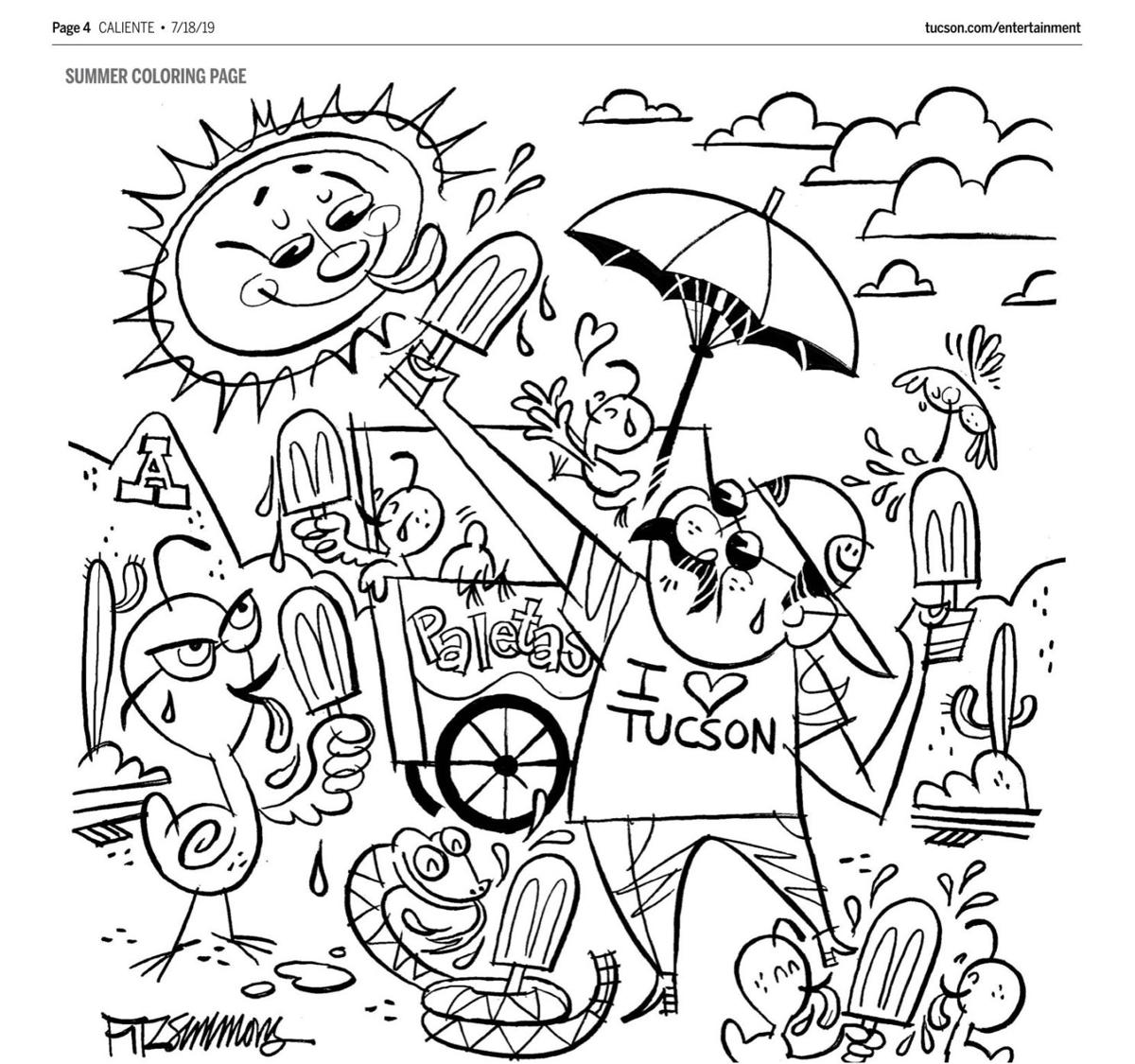 Best Summer Coloring Pages Give A Cool Activity To Your Kids 2020 | 1125x1200