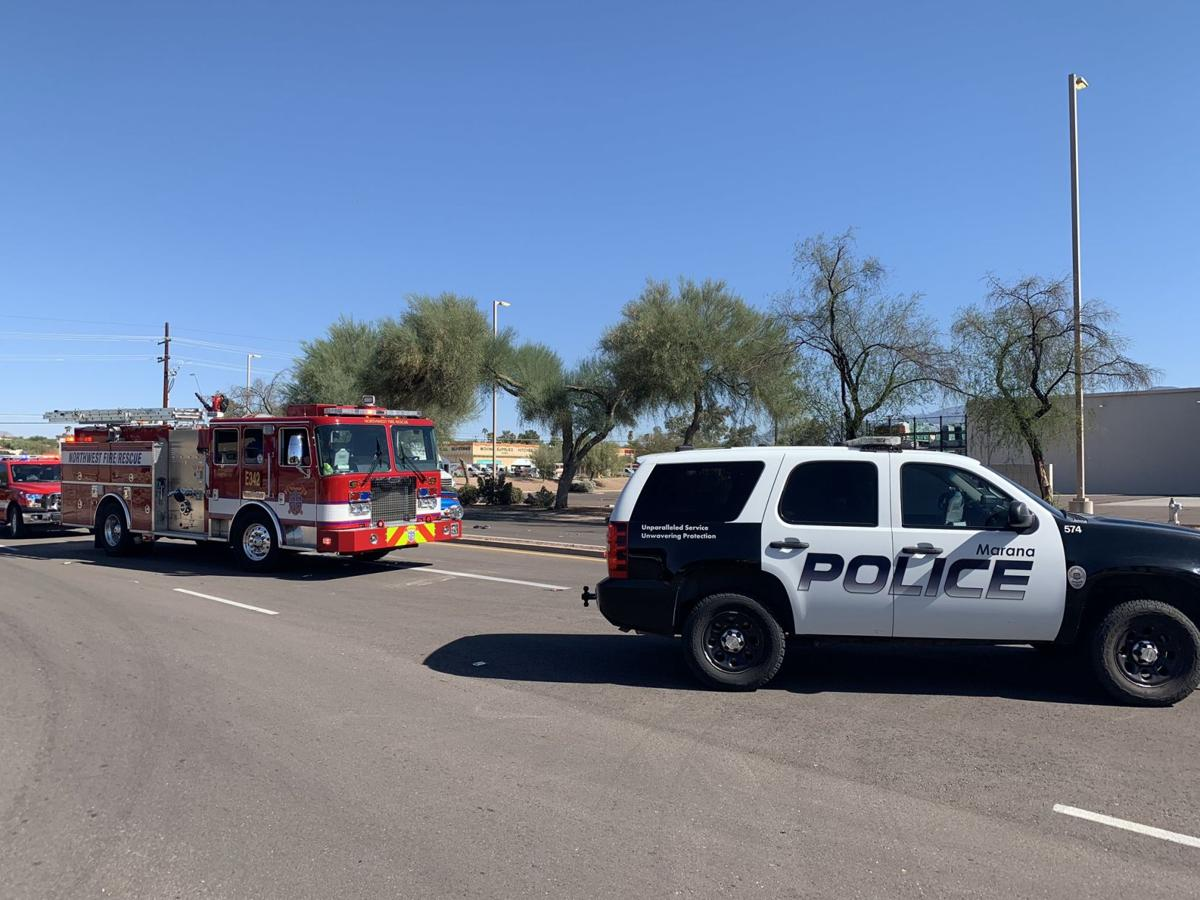 Pedestrian seriously injured after being struck by vehicle in Marana