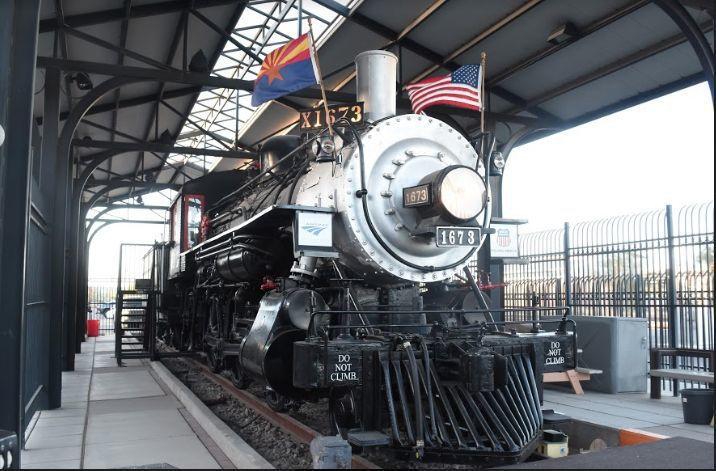 AMTRAK Historic Train Depot