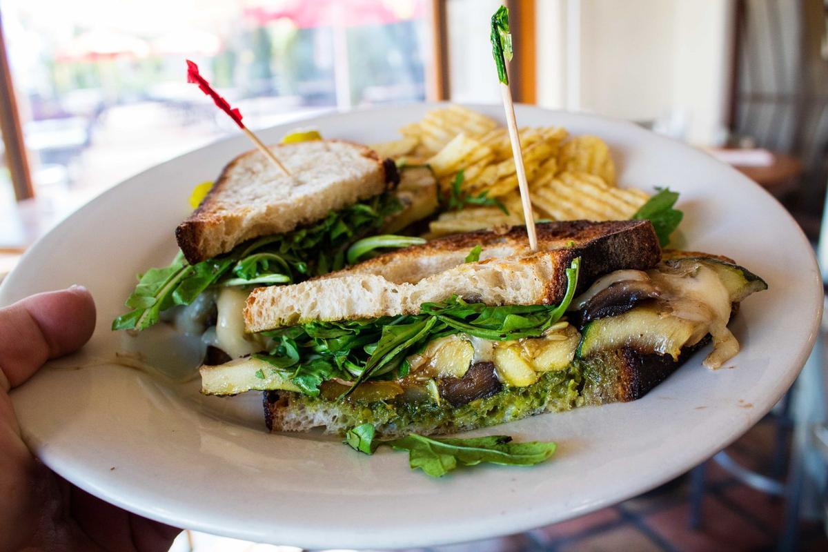B Line veggie sandwich