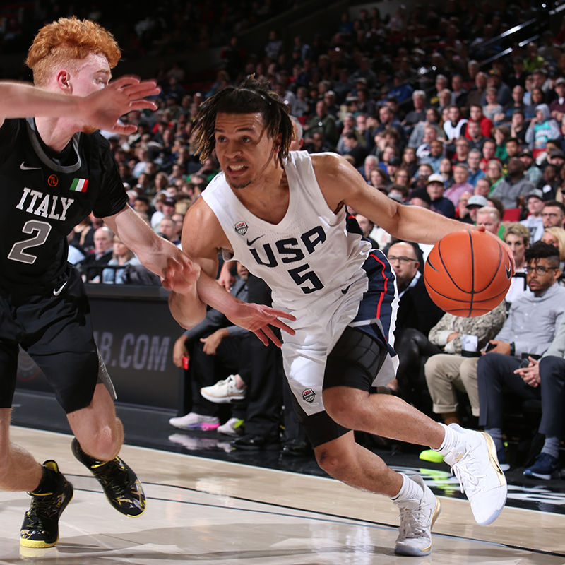 new style 3e70d 2c8e8 Arizona signee Nico Mannion stars in Hoop Summit; Josh Green ...