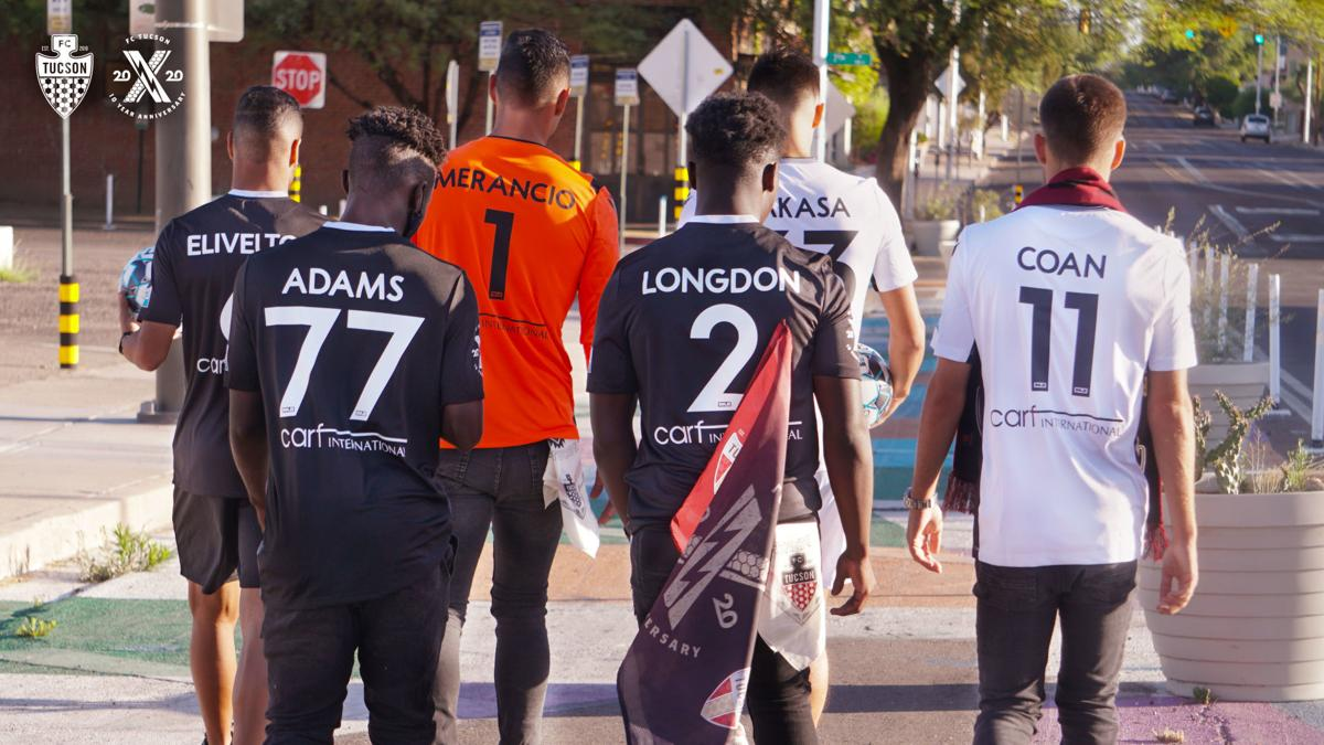 FC Tucson players