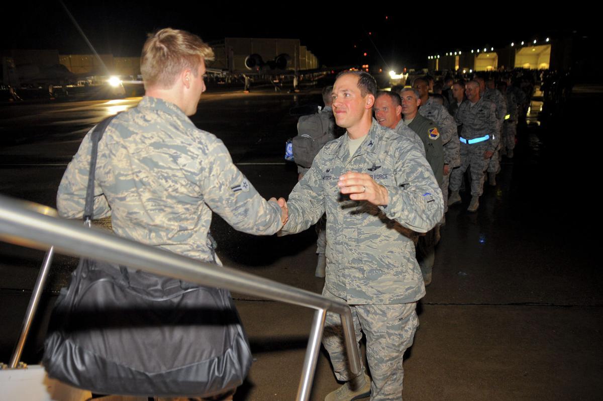 Davis-Monthan Airmen return from deployment
