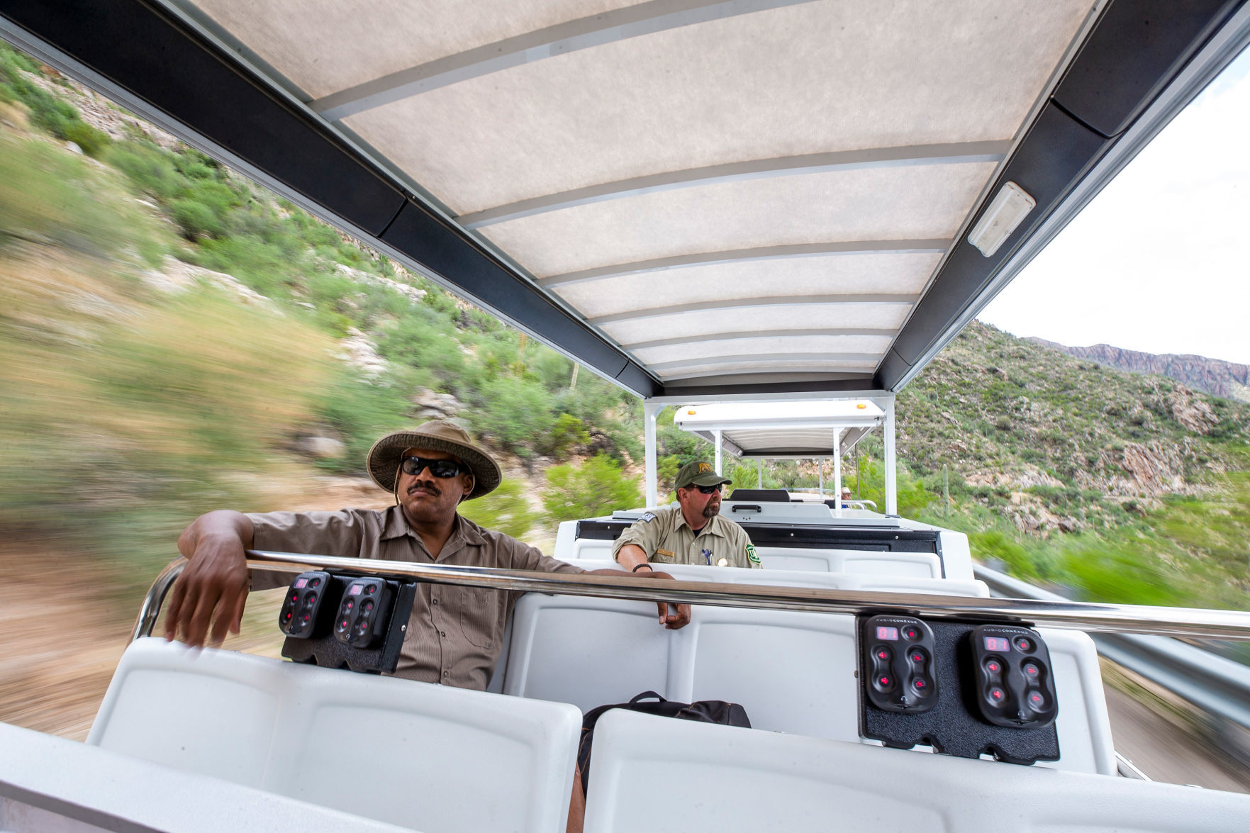 Vehicle testing underway as Sabino Canyon moves closer to electric shuttle service