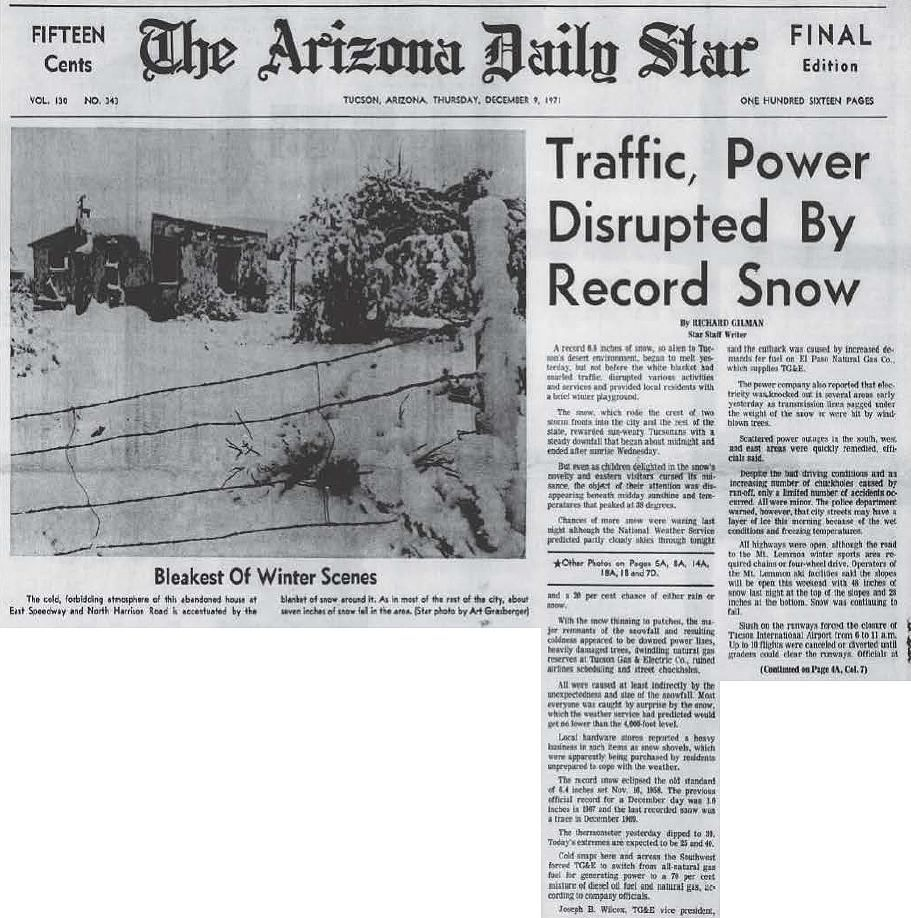 Traffic, power disrupted by record snow