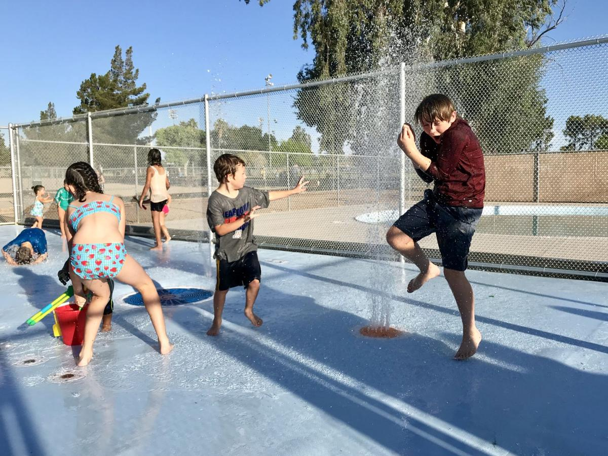 Palo Verde Park splash pad