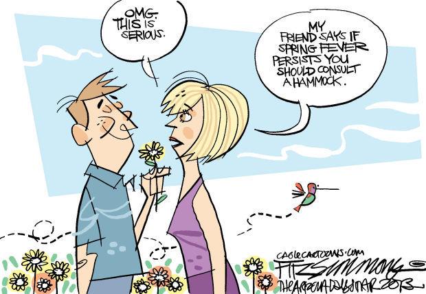 Daily Fitz Cartoon: Sigh