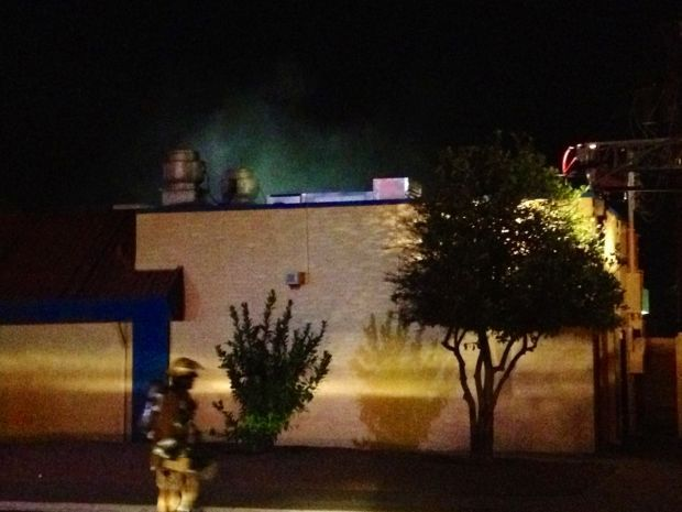 Fire breaks out overnight at new Tucson restaurant
