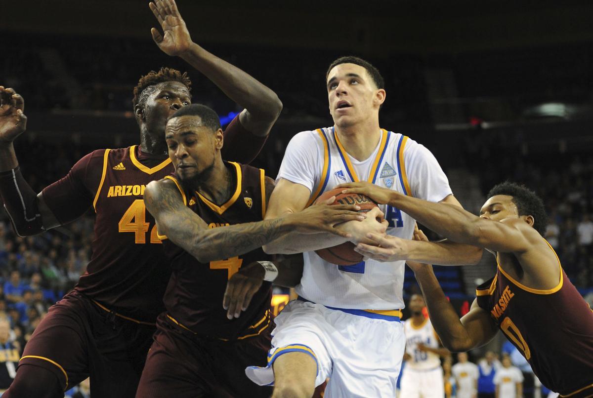 Arizona St UCLA Basketball