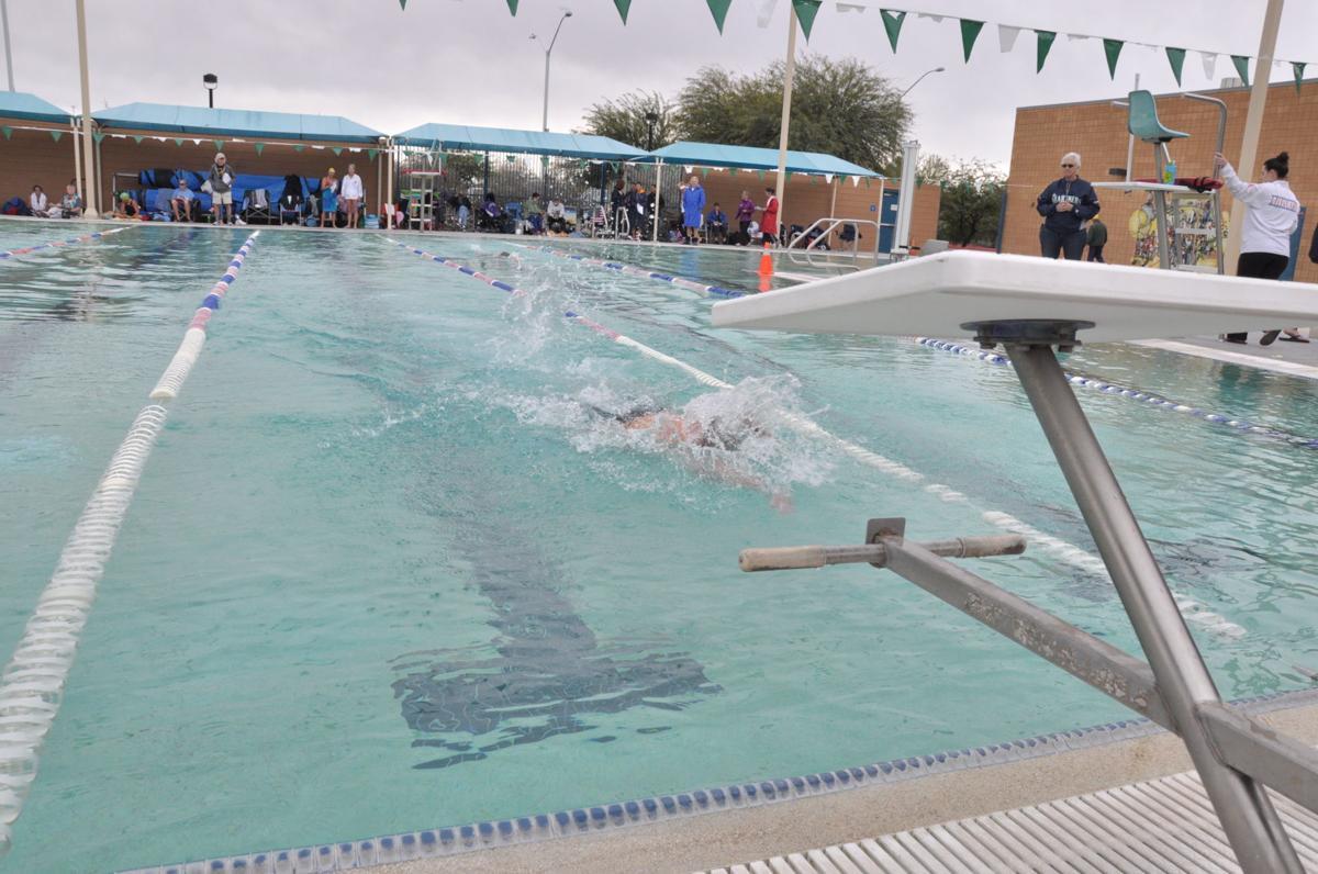 Clements Pool for Sprint Triathlon