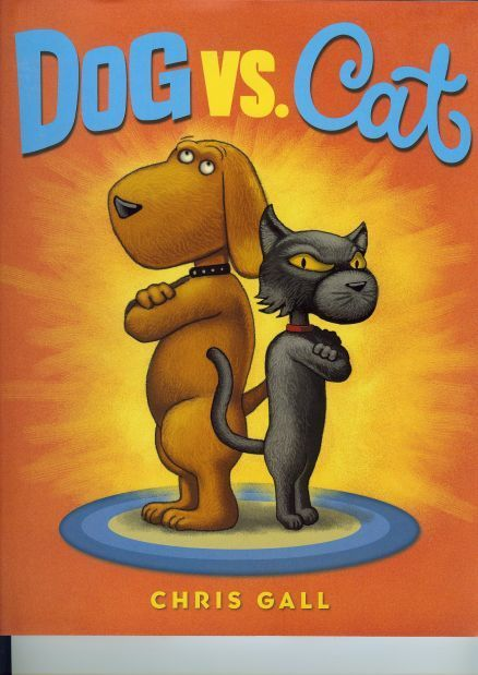 """Dog vs. Cat,"" Chris Gall's new book"