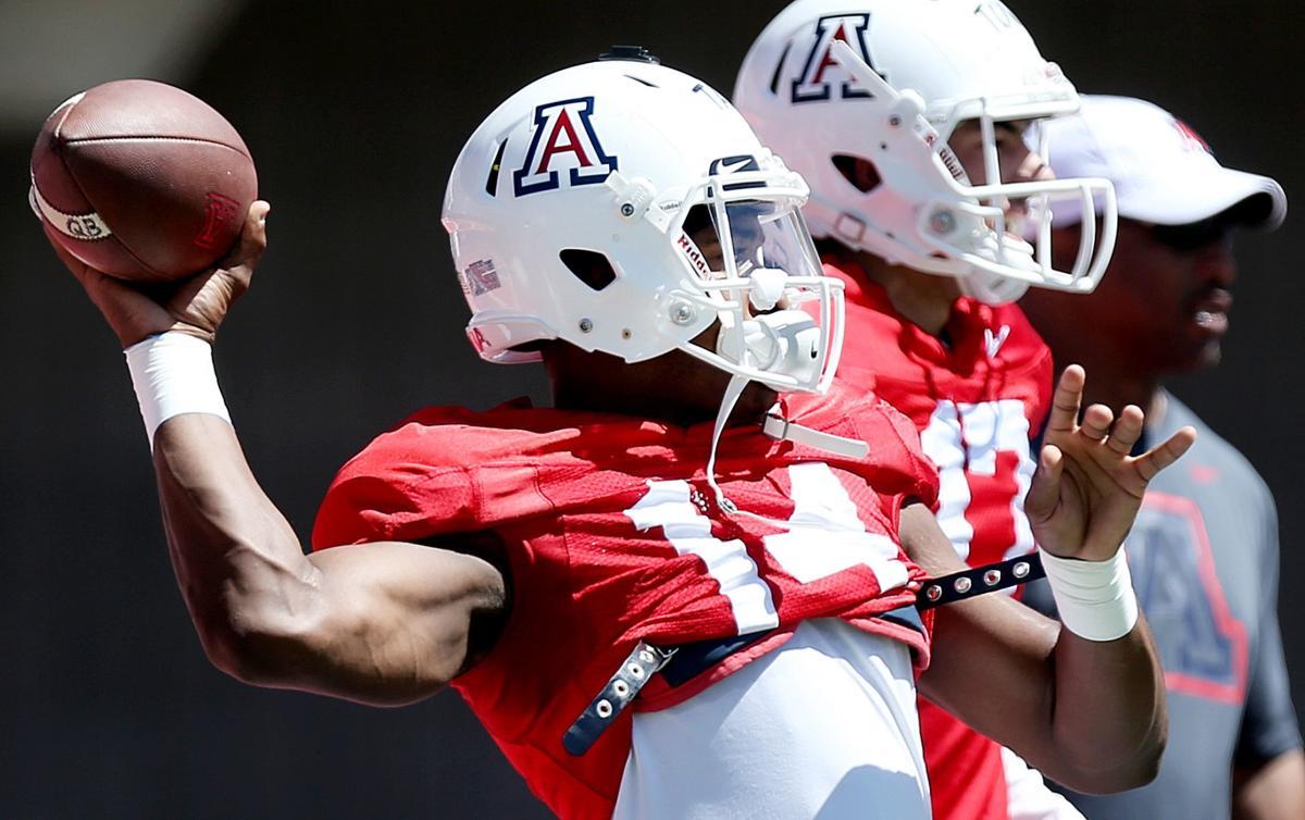 Arizona Wildcats spring football scrimmage