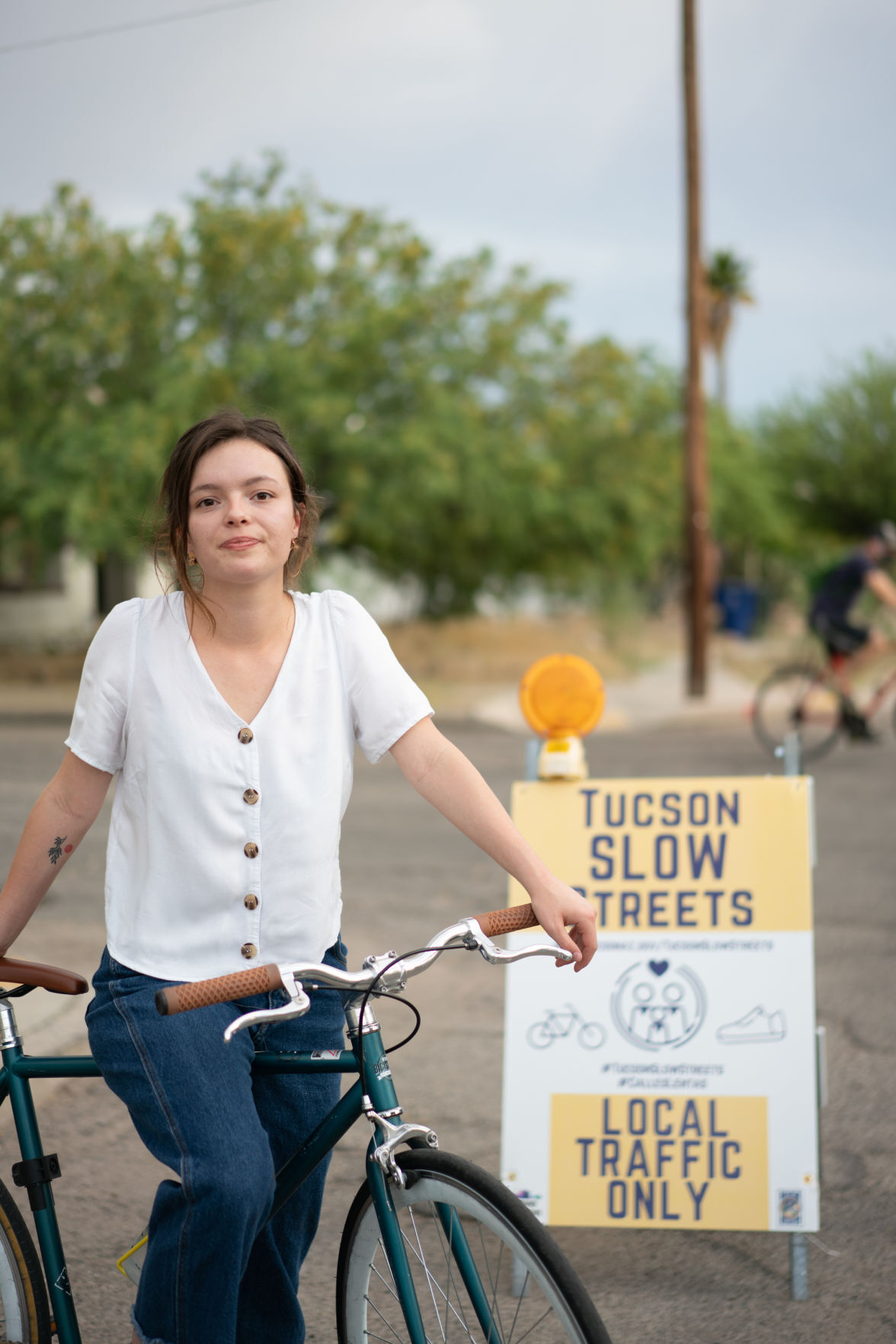 """Slow Streets"" pilot program"