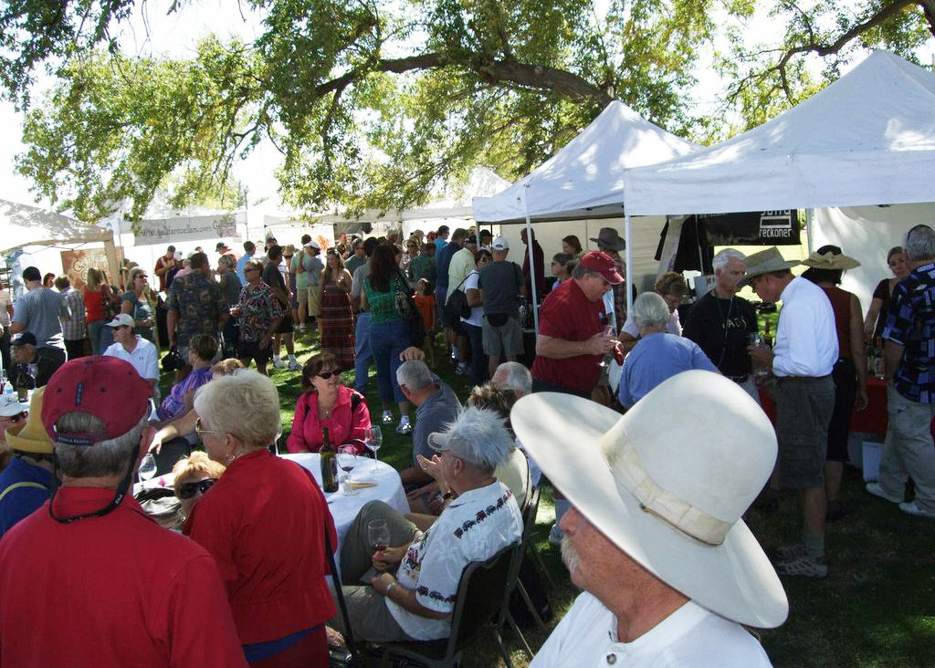 Saturday, May 20-Sunday, May 21 — Imbibe at the Willcox Wine Festival