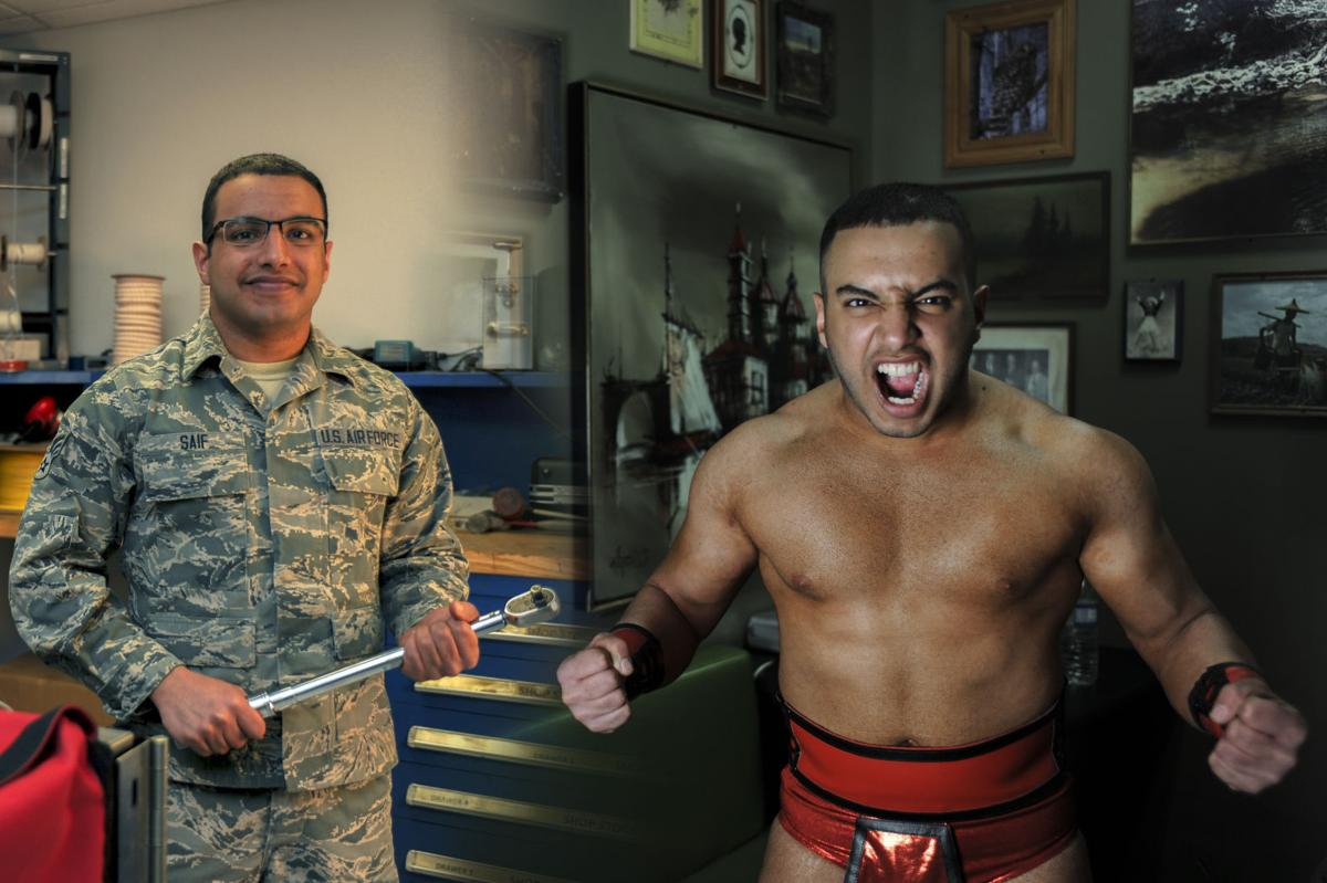 The Wrestling Airman
