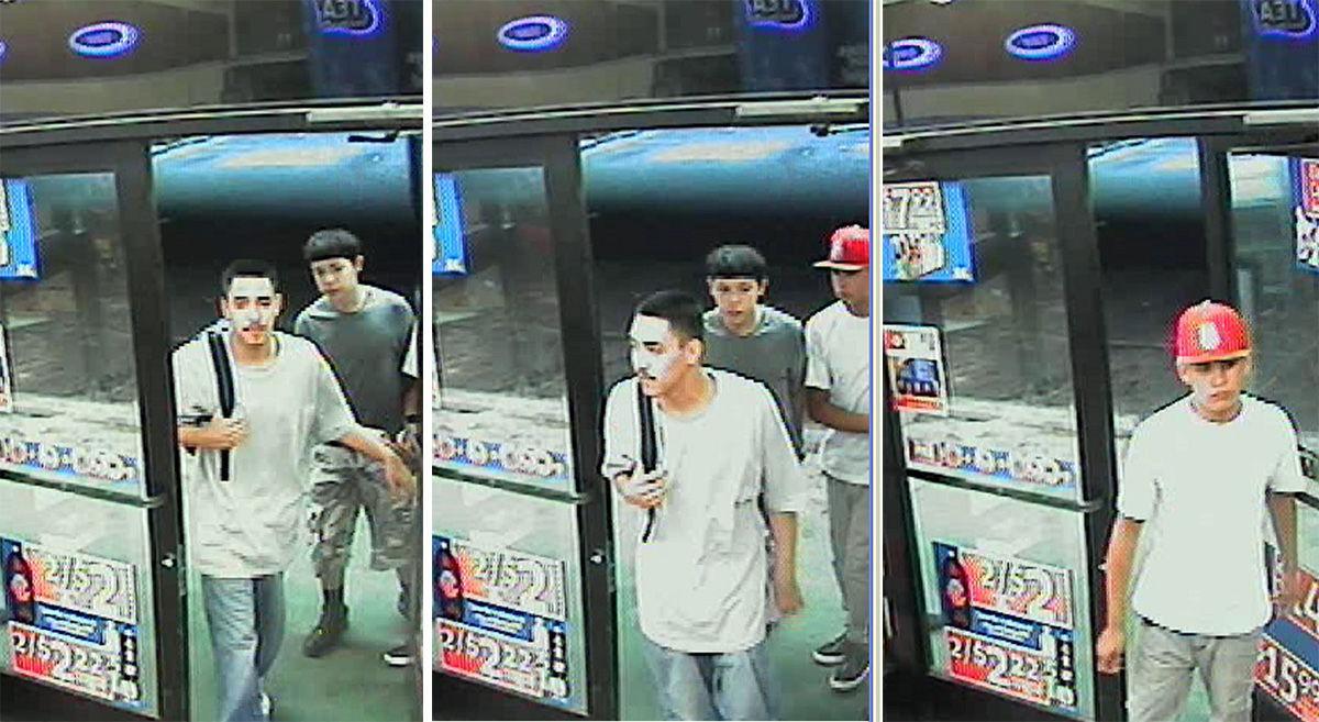 3 men sought in Circle K theft