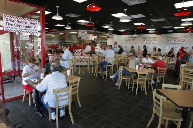 FIfth Five Guys opening in August