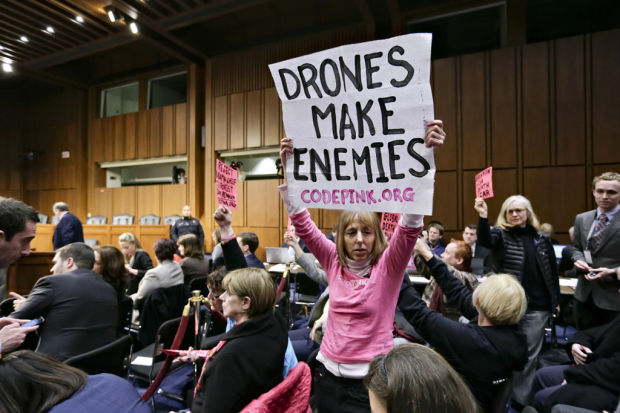 Brennan strongly defends drone hits