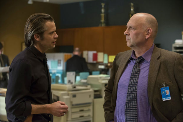 Flexible Nick Searcy has found a new home in FX's 'Justified'
