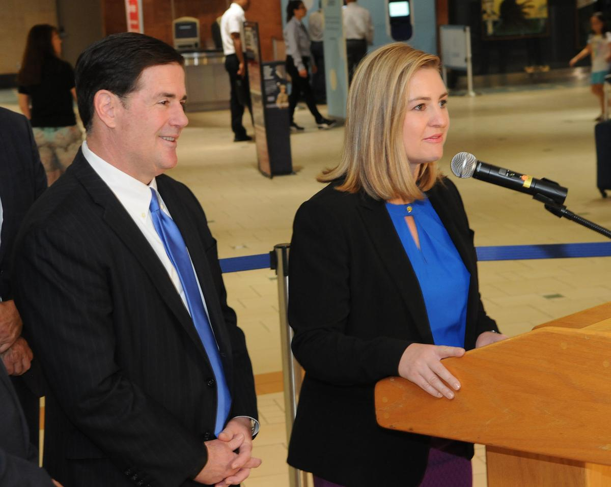Ducey, Gallego travel IDs