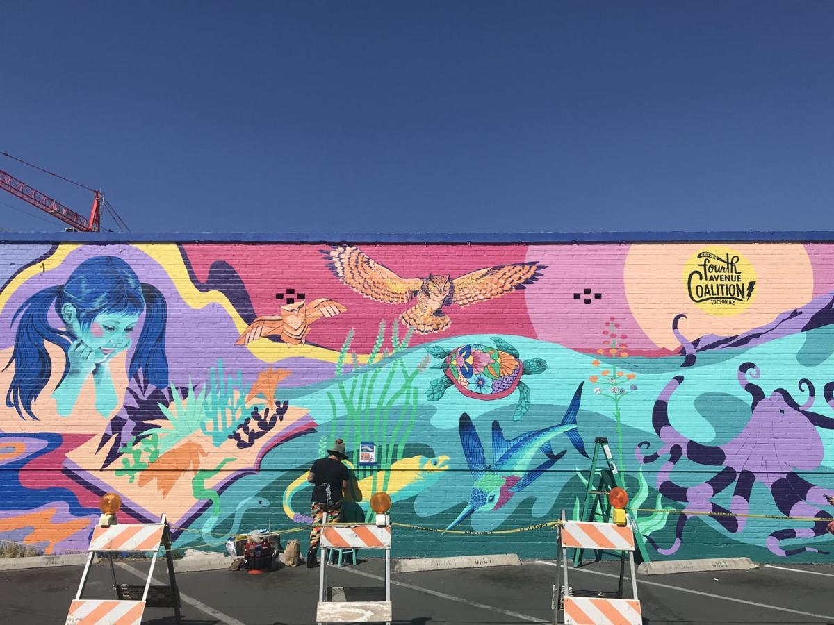Jessica Gonzales mural