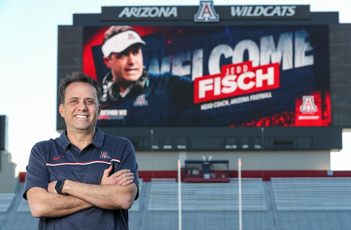 Jedd Fisch, UA football, coach