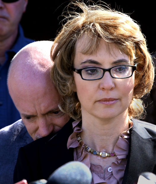 Giffords at Tucson shooting site