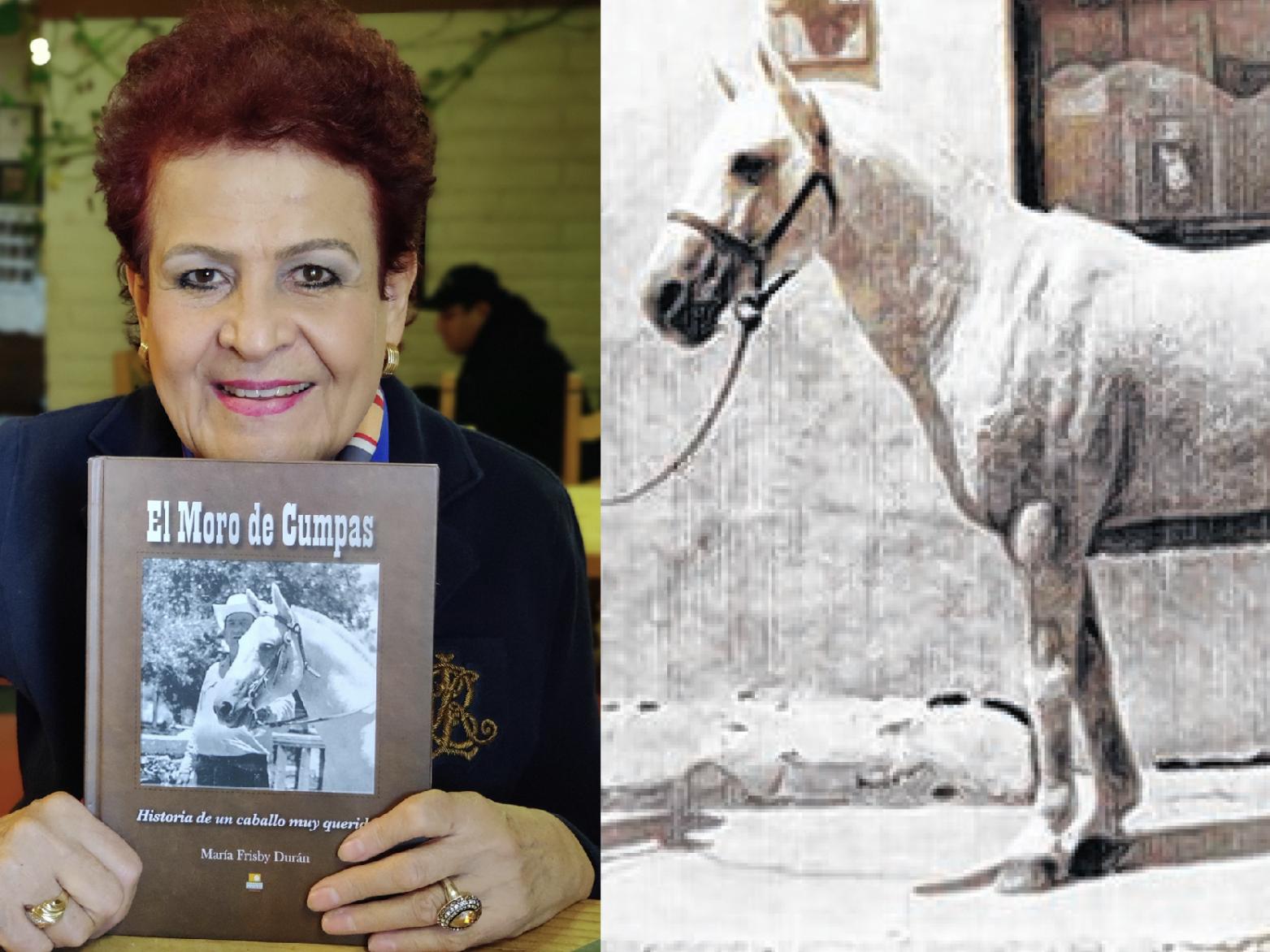 María Frisby Escribe La Historia Del Moro De Cumpas El Caballo De Su Papá Gente Tucson Com