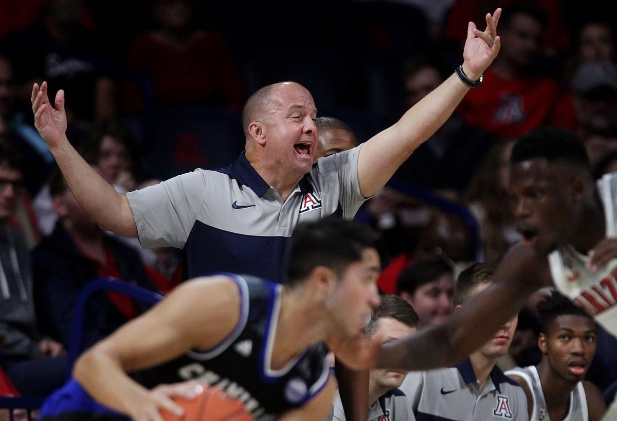 Arizona Wildcats 75, Chaminade Silverswords 64