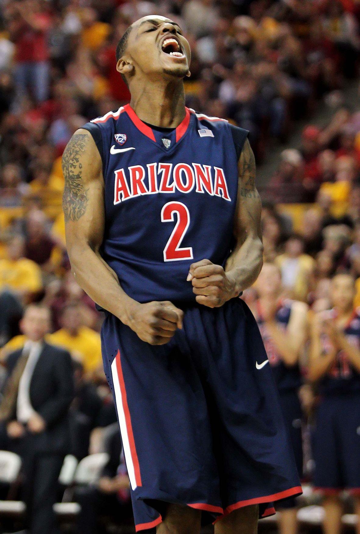 Arizona Wildcats & Santa Rita grad Stoglin ex-Cat Lyons lighting it up overseas ...