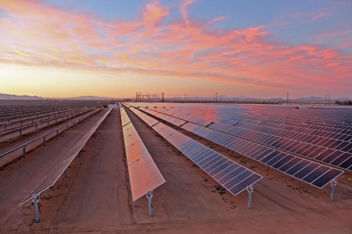 90m Solar Plant Near Tucson To Power Paypal Asu Tucson