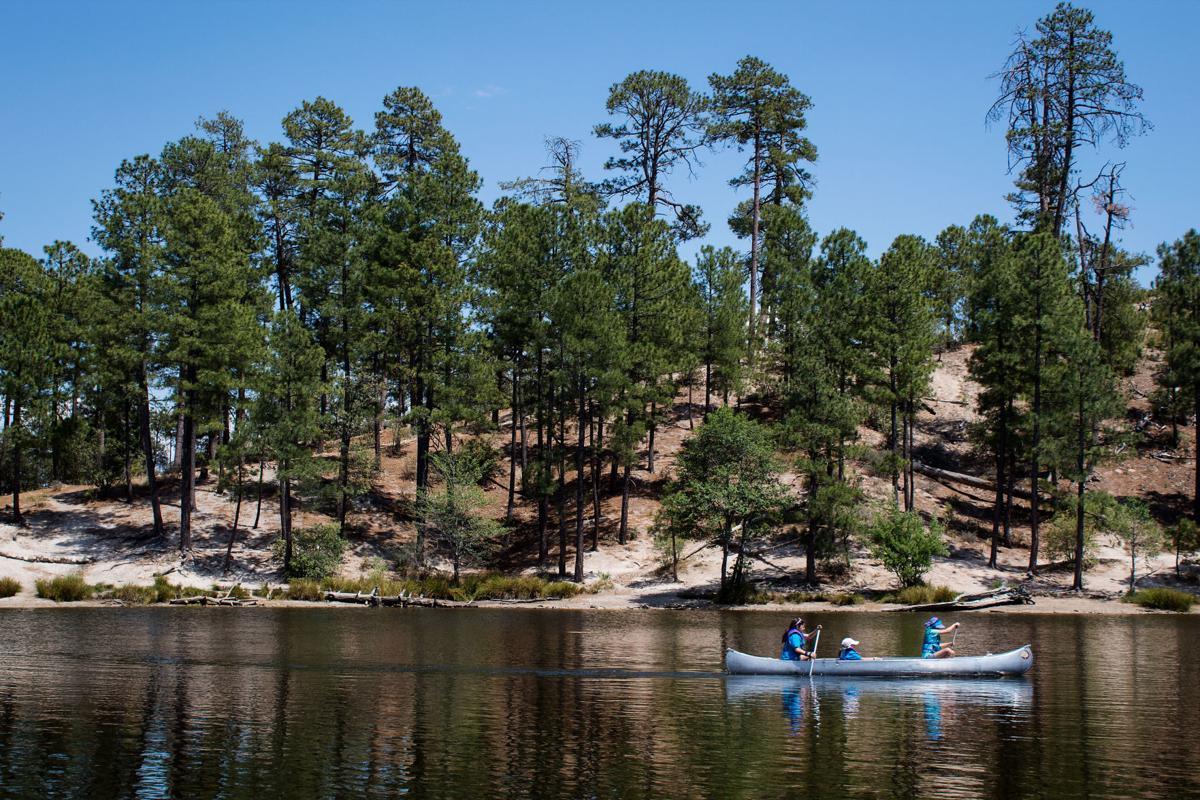 Rose Canyon Lake at Mount Lemmon
