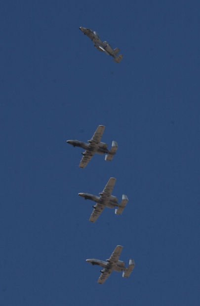 A-10 aircrafts in Tucson