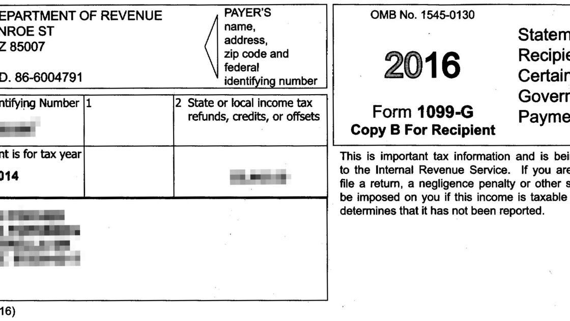 Arizona Sends Erroneous Tax Forms To 580000 Local News Tucson