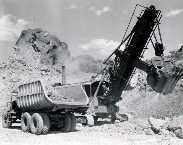 Mining operations at Ajo